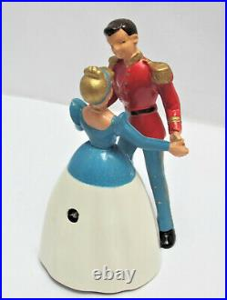 1950's Wells Brimtoy Windup Prince Charming and Cinderella Boxed (37)