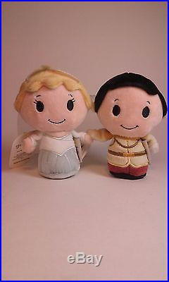 2015 Hallmark Cinderella & Prince Charming Itty Bittys Limited Edition D23