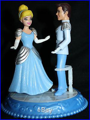 4.25 Disney Cinderella & Prince Charming Dancing Duet Toy Cake Topper Figure