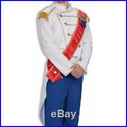 Adult Mens Disney Cinderella Prince Charming Deluxe Costume Fast Ship