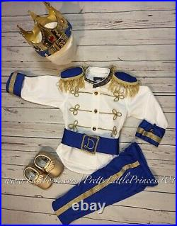Baby Prince Charming costume, 1st birthday Outfit, 12-24 months READ DETAILS