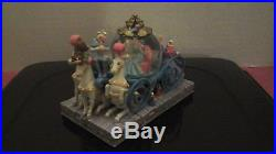 CINDERELLA CARRIAGE WITH PRINCE CHARMING SNOW GLOBE