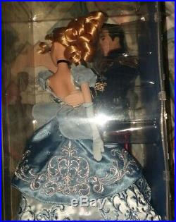 CINDERELLA & PRINCE CHARMING Disney Store LE Fairytale Collection Dolls! LOW #