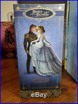Cinderella And Prince Charming Disney Store Le Designer Fairytale Collection