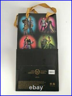 Cinderella And Prince Charming Doll Disney Fairytale Designer Boxed + Bag