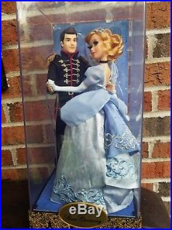 Cinderella And Prince Charming Doll Set- LE Disney Fairytale Designer Collection