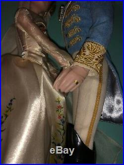 Cinderella And Prince Charming Live Action Doll Set