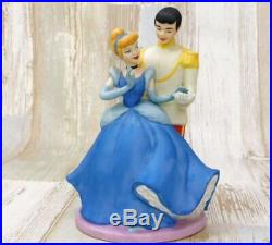 Cinderella Charming prince Figure music box 14.5cm Pottery Disney TDL from Japan