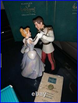 Cinderella Dancing With Prince Charming (glass Collector Item)