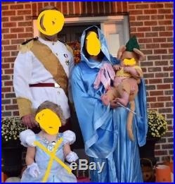 Cinderella Halloween Costume Lot Prince Charming Fairy Godmother Gus The Mouse