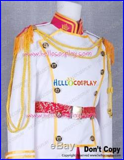 Cinderella Prince Charming Cosplay Costume Outfits H008