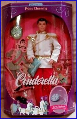 Cinderella Prince Charming Disney Classic with Shoe and Locket (1991). Barbie