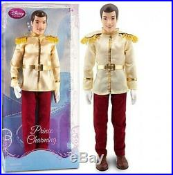 Cinderella Prince Charming Doll - 12'' H. Free Delivery
