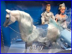 Cinderella Prince Charming Horse and Carriage Play Set Extremely Rare Authentic