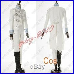 Cinderella Prince Charming Richard Madden COSplay Costume Tuxedo Outfit Attire