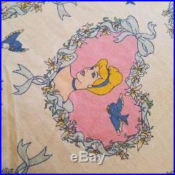 Cinderella Prince Charming Twin Sheet Set 2 Pillowcases and Comforter Disney