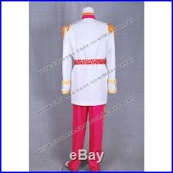 Cinderella The Prince Charming Cosplay Costume Uniform Coat Outfit Full Set