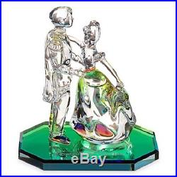 Cinderella and Prince Charming Crystal Figurine by Arribas Brothers, NEW IN BOX