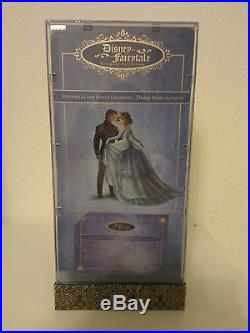 Cinderella and Prince Charming Doll Set Disney Fairytale Designer Collection