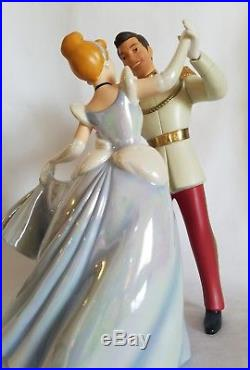 Cinderella and Prince Charming SO THIS IS LOVE Disney Collectible WDCC