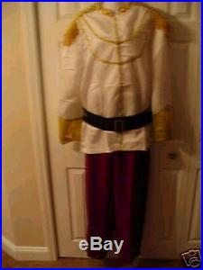 DISNEY ADULT PRINCE CHARMING COSTUME Xlarge NEW
