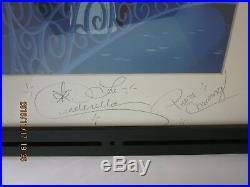 DISNEY Cinderella & Prince Charming signed at Magic Kingdom This is LOVE ART