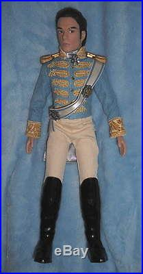 DISNEY STORE CINDERELLA Movie PRINCE CHARMING 11 DOLL Poseable Richard Madden