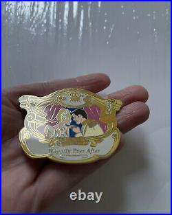 Disney Auctions HTF LE 100 Happily Ever After Cinderella & Prince Charming Pin