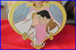 Disney Auctions P. I. N. S. Cinderella And Prince Charming Wedding Day Kiss Pin