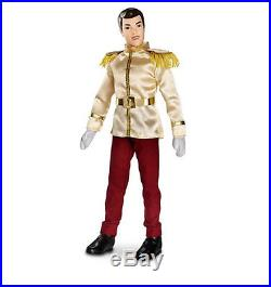 Disney Authentic Cinderella Prince Charming Doll Toy Figure 12 Girls NEW in BOX