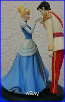 Disney Cinderella & Charming Prince Figure UK limited Toy Hobby Collectibles B43