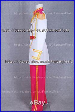 Disney Cinderella Prince Charming Cosplay Costume Outfits white suit Halloween