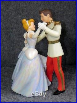Disney Cinderella & Prince Charming So This Is Love WDCC Figurine Pre-owned
