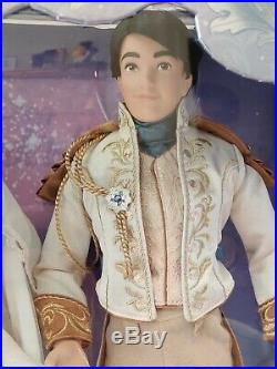 Disney Cinderella Prince Charming Wedding Platinum Limited Edition Doll