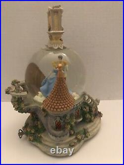 Disney Cinderella With Prince Charming So This is Love Snowglobe Rare
