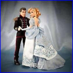 Disney Cinderella and Prince Charming Limited Edition Fairytale Designer Dolls