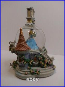 Disney Cinderella and Prince Charming Musical Snow Globe So This Is Love