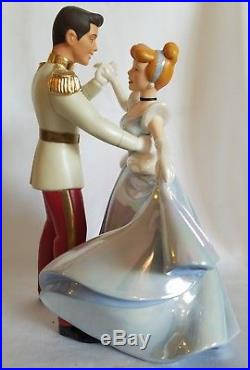 Disney Cinderella and Prince Charming SO THIS IS LOVE Figurine WDCC