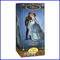 Disney Designer Fairytale Cinderella and Prince Charming dolls Limited Edition