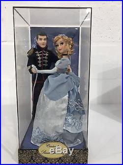 Disney Fairytale Cinderella And Prince Charming Designer Collection Dolls, New