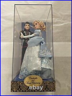 Disney Fairytale Collection Cinderella and Prince Charming Dolls LE 6000 Low#68