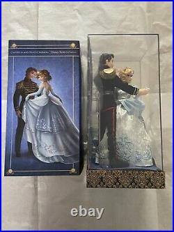 Disney Fairytale Collection Cinderella and Prince Charming Dolls LE 6000 NEW