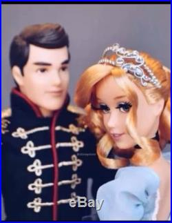 Disney Fairytale Designer Doll Couple CINDERELLA and PRINCE CHARMING Limited Ed