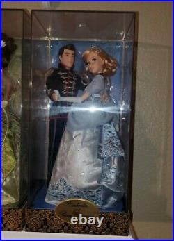 Disney Fairytale Designer Limited Edition Cinderella and Prince Charming Couple
