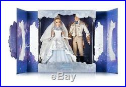 Disney LE 600 Doll Cinderella And Prince Charming Limited Edition New Platinum