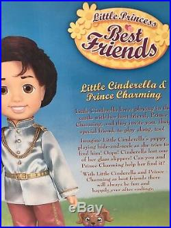 Disney Little Cinderella And Prince Charming Before Once Upon a Time Dolls