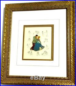 Disney Princess Cinderella Pin Framed Collection Limited Prince Charming Rare