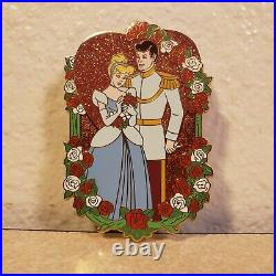 Disney Shopping Cinderella & Prince Charming Valentine's Day LE 100 Pin