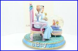 Disney Snow globe Cinderella Prince Charming A DREAM IS A WISH YOUR HEART MAKES
