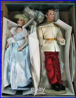 Disney Store Bisque Cinderella Prince Charming 20 Limited Edition Doll Retired